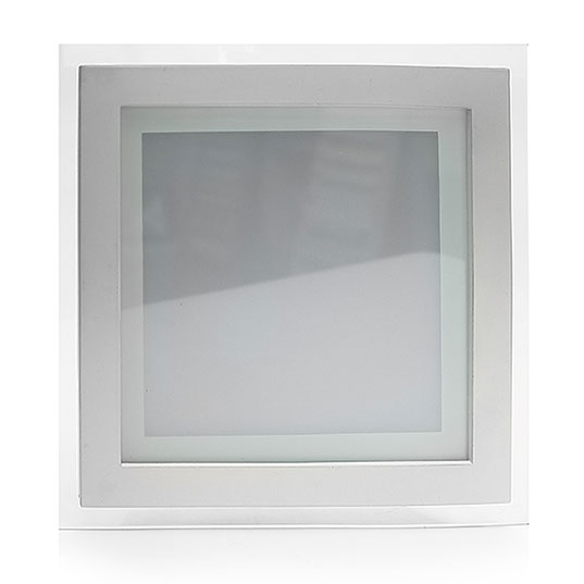 Glass panel light